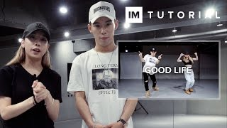 good life g eazy kehlani 1million dance tutorial