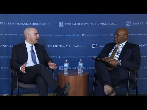 Kashkari - Introducing the Minneapolis Fed's Opportunity and Inclusive Growth Institute.