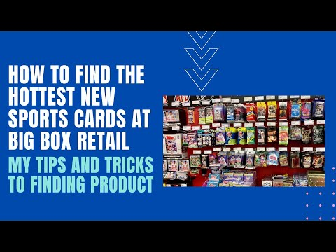 Tips And Tricks To Finding Sports Cards At Target And Wal-Mart.