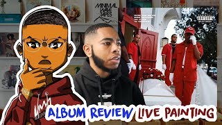 Boogie - Everything's for Sale ALBUM REVIEW LIVE PAINTING | Kiakili