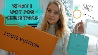 What I Got For Christmas 2016 - Louis Vuitton, Tiffany & Co. and more!