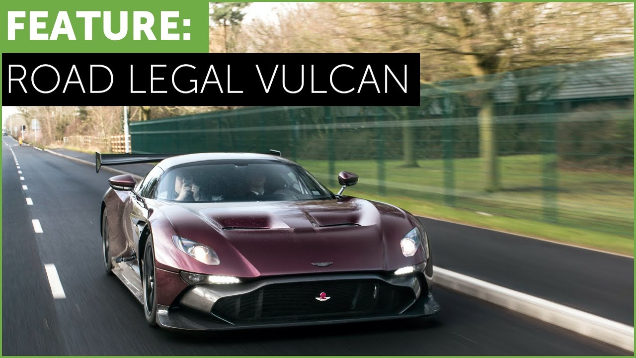Aston Martin Vulcan >> Only Road Legal Aston Martin Vulcan In The World
