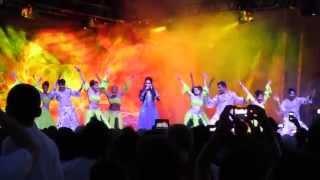 Shweta Subram ft. Shiamak Vancouver dance troupe @ Surrey Fusion Festival
