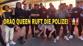 DRAQ QUEEN RUFT DIE POLIZEI⁉️😱🚨| ONUR