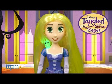 Disney Tangled the Series Musical Lights Rapunzel from Hasbro