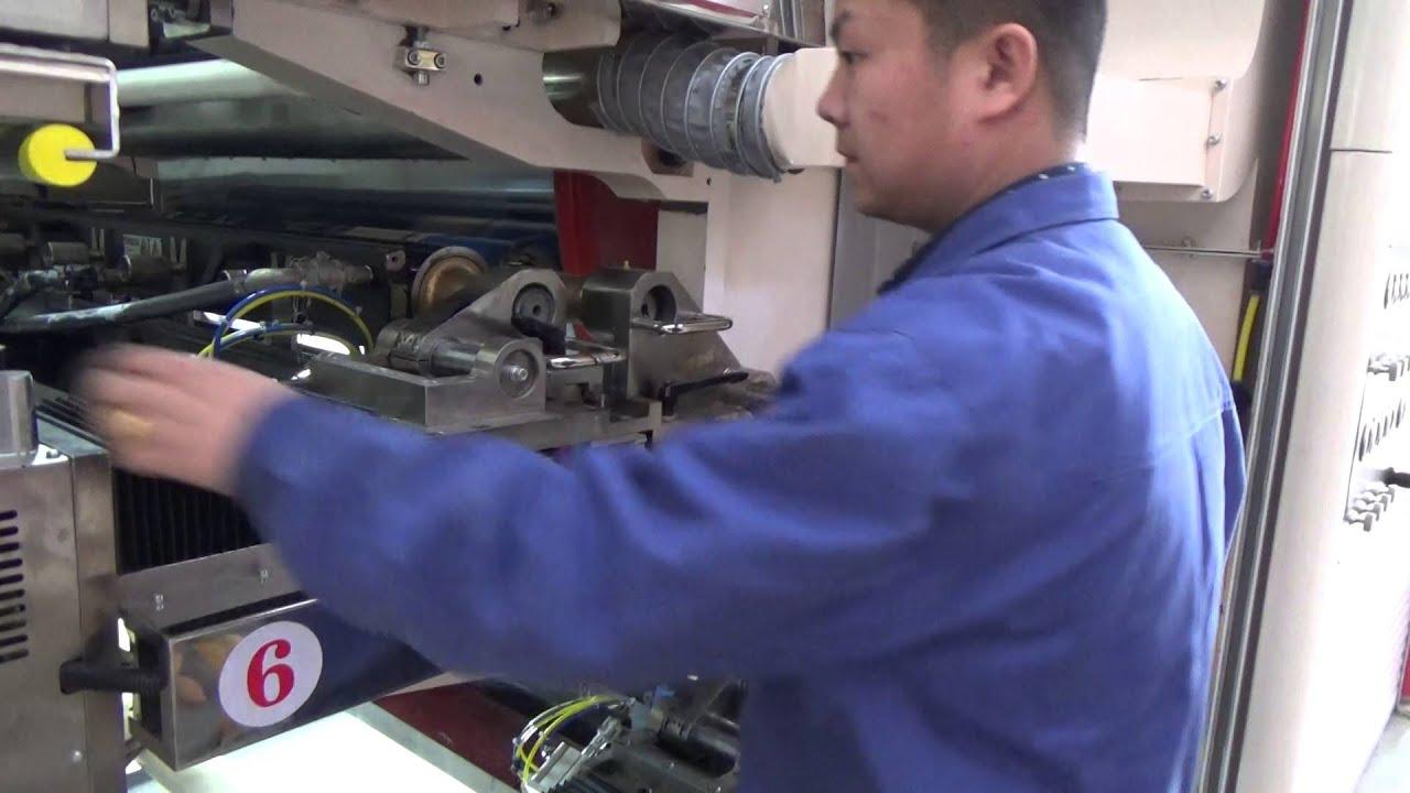 Part 7 Gearless CI flexo printing machine Install the sixth – Machine Mechanic