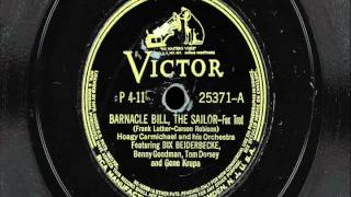 "Hoagy Carmichael & His Orchestra - ""Barnacle Bill, The Sailor"""