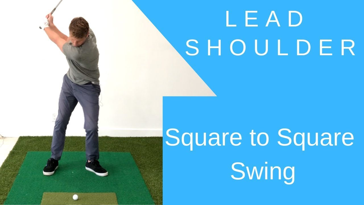 Lead Shoulder Initiation Square To Square Swing