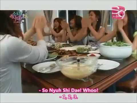 SNSD Party at Sooyoungs House!!