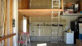"Garage Storage Space ""how To Build Garage Storage Space"" Part 1"
