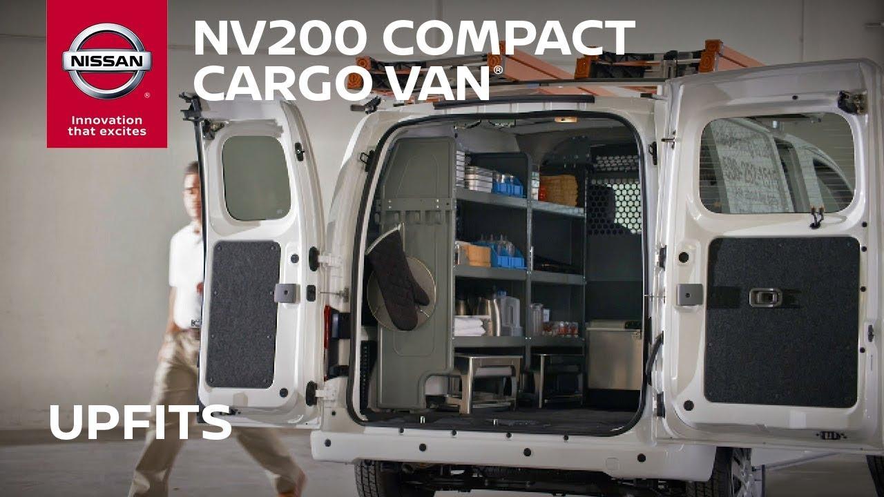 Nissan Cargo Van >> Nissan NV200 Cargo Van Interior Features - YouTube
