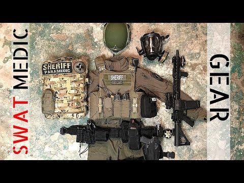 SWAT Medic Gear