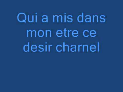 Notre Dame de Paris Belle Lyrics