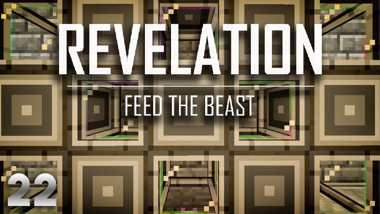 FTB Revelation EP22 Applied Energistics 2 Autocrafting