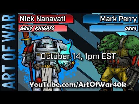 Download Warhammer 40k 9th Edition Battle Report: Orks vs Grey Knights
