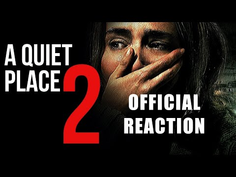 A Quiet Place Part II Trailer #1 Reaction