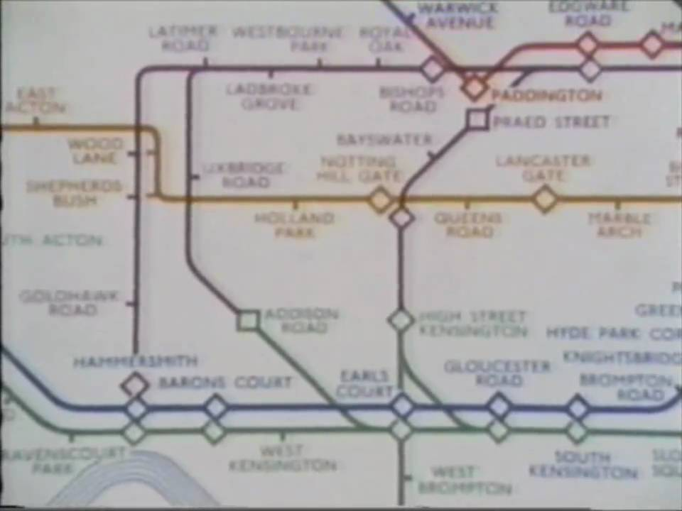 design classics london underground map youtube