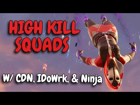 SQUAD SLAYING | W/ CDNThe3rd, Ninja, & BasicallyIDoWrk