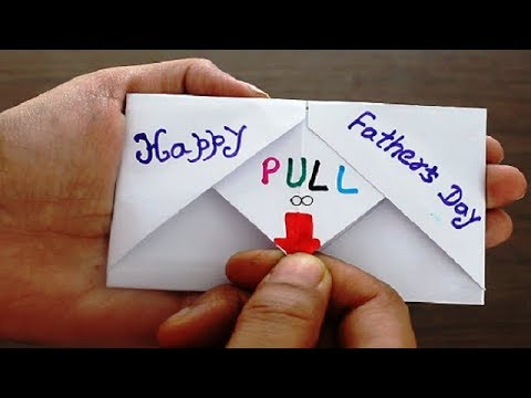 diy---surprise-message-card-for-father's-day-|-pull-tab-origami-envelope-card-|-father's-day-special