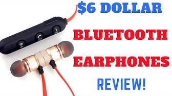 What do you Expect!-$6 Dollar Bluetooth Earphones