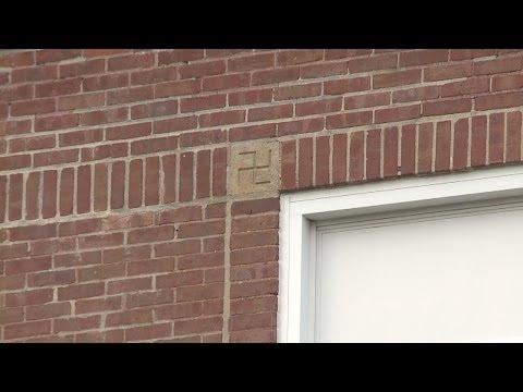 Swastikas carved into Waterbury elementary school