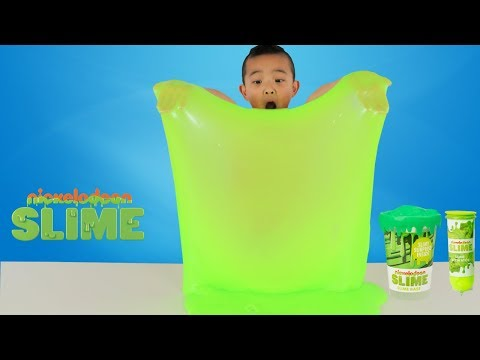 WATERY SLIME Surprise Giant Nickelodeon Slime Fun With Ckn Toys