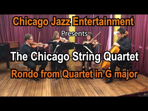 Chicago String Quartet | Mozart's Rondo in G Major | Chicago Wedding Music