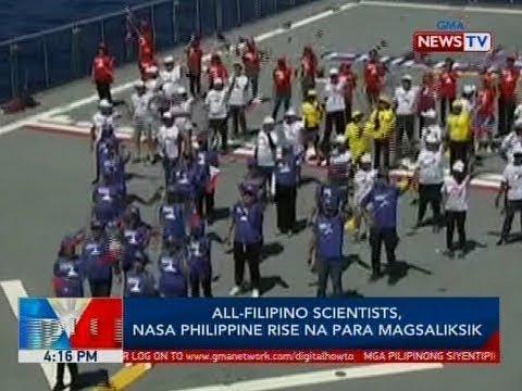 BP: All-Filipino scientists, nasa Philippine Rise na para magsaliksik