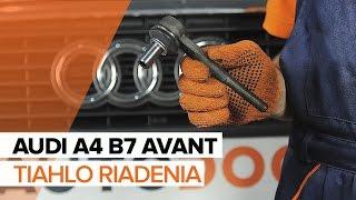 Údržba Audi R8 42 - video návod
