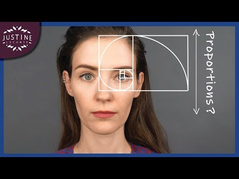 The Perfect Eyebrows For Your Face Shape (based On The Golden Ratio) ǀ Justine Leconte