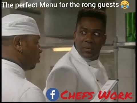The perfect Menu - Tv Show Chef!