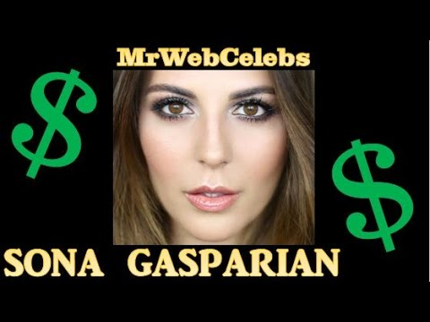 How much does Sona Gasparian make on YouTube 2015 - YouTube