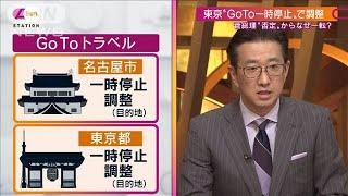 """""""GoTo一時停止""""伝わってこない「総理の思い」(2020年12月13日) - YouTube"""