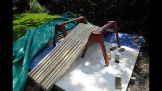 Amateur Shed Build Part 4 Trusses, Rafters ?