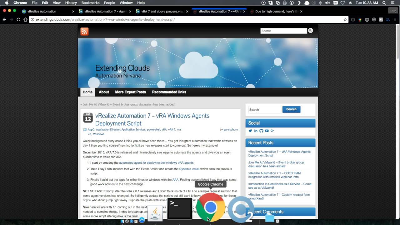 vRealize Automation 7 – Agent Install Wizard for 7 0 thru 7 1