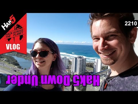 Hak5 Down Under - Hack Across the Planet - Hak5 2210