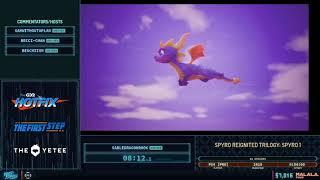 Spyro Reignited Trilogy: Spyro 1 by SableDragonRook in 47:15 - Frost Fatales 2020