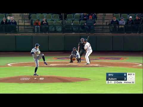 Auburn Baseball vs BYU Game 1 Highlights