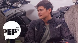 Matteo Guidicelli tries to evade question about trip to Italy with Sarah Geronimo
