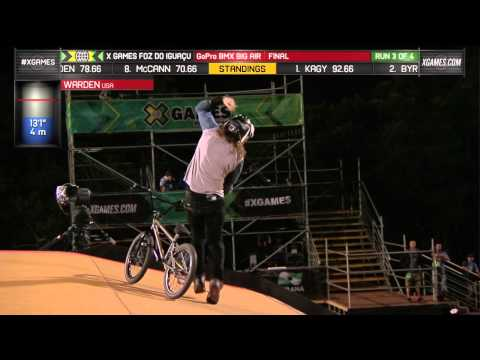 Zack Warden Wins GoPro BMX Big Air