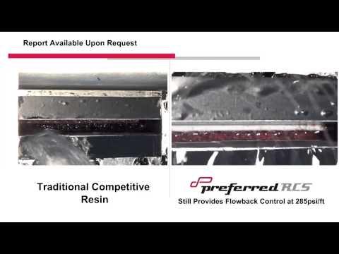 RCS Flowback Comparison vs  Traditional Resin