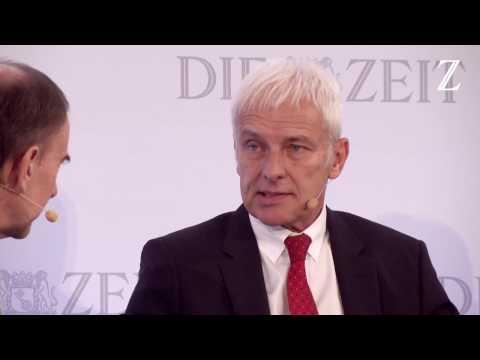 ZEIT Wirtschaftsforum 2016 - One-on-One mit VW-Vorstandvorsitzendem Matthias Müller