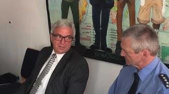Innenminister RLP Roger Lewentz besucht Polizeiinspektion Germersheim