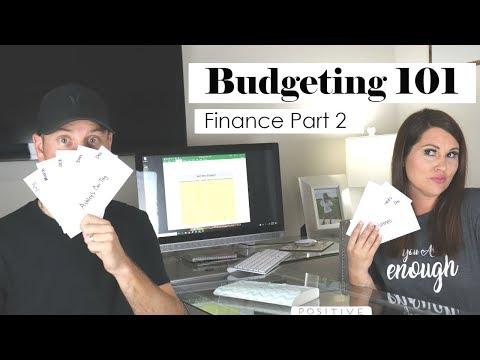 FINANCE PART 2 | CASH ENVELOPE SYSTEM | EXCEL BUDGET