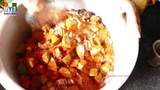 MANGO PICKEL | Aavakaaya | Very Popular Pickle in South Asia and India | 4K VIDEO