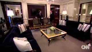 Lotte Hotel Moscow welcomes Richard Quest from CNN Business Traveller(Lotte Hotel Moscow welcomes Richard Quest from CNN Business Traveller program at the Royal Suite, the biggest and the most expensive Suite in Moscow., 2014-02-14T08:50:51.000Z)