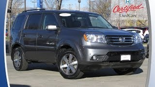 Honda Certified|2013 Honda Pilot Touring|Gray|$34,900*|Denver-Longmont|Fisher Honda|PC6846