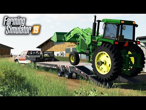 FS19- DEALERSHIP DELIVERED A NEW TRACTOR TO THE FARM! thumbnail