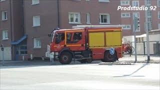 SDIS 59 Départ CCRM et FPT1 Sapeurs-Pompiers de Dunkerque