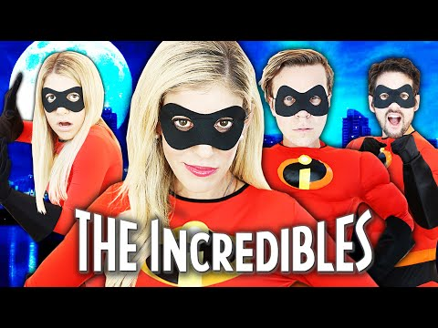 Giant Incredibles Game in Real Life to Save Game Master! | Rebecca Zamolo